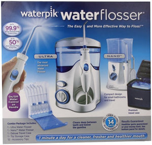 Combo - waterpik & travel waterpik