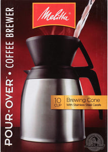Manual coffee maker - 10 cup thermal