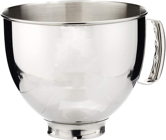 Tilt head 5 quart replacement mixer bowl