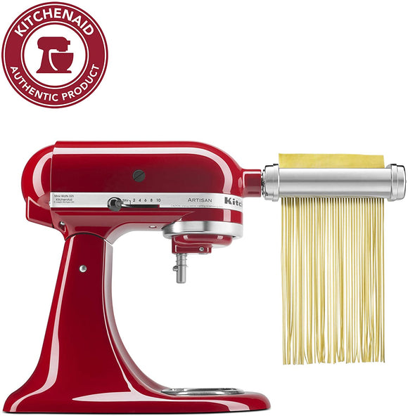 3 Piece Pasta Roller & Cutter Attachment set