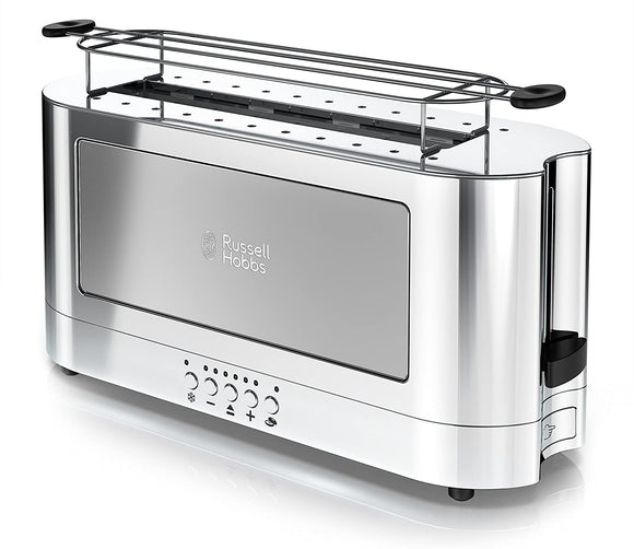 Glass Accent Long Toaster