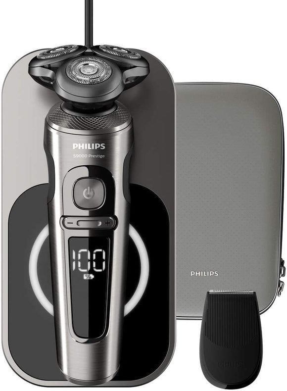 9000 Prestige Shaver with 3 modes, Wet & Dry