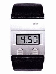 Wrist Watch Digital Display