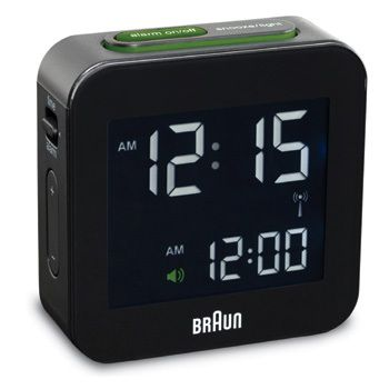 LCD - 24 Hour Display Alarm Clock