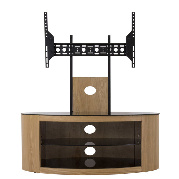 "AVF Buckingham 1000 TV Stand for TVs up to 65"", Oak"