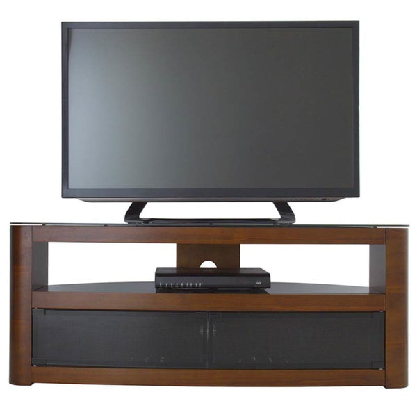 "AVF Burghley 1250 TV Stand for TVs up to 65"", Walnut"