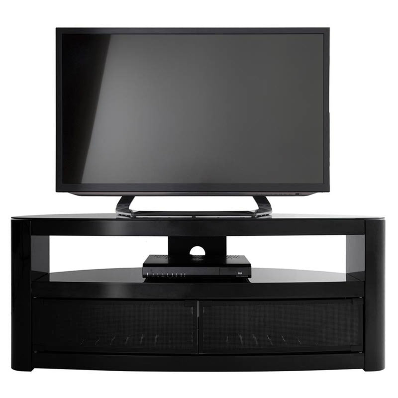 "AVF Burghley 1250 TV Stand for TVs up to 65"", Black"