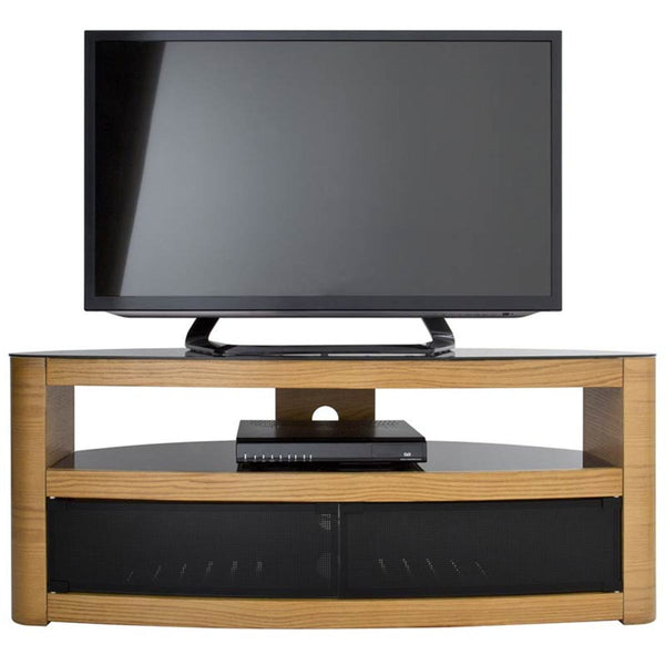"AVF Burghley 1250 TV Stand for TVs up to 65"", Oak"