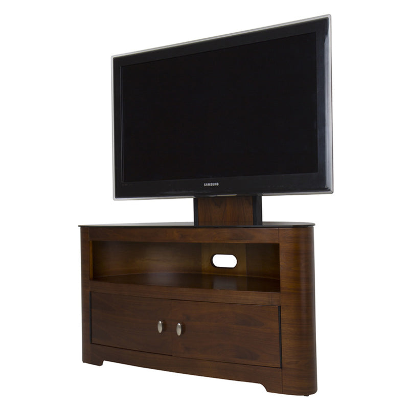 "AVF Blenheim Combi TV Stand with Mount for TVs up to 65"", Walnut"