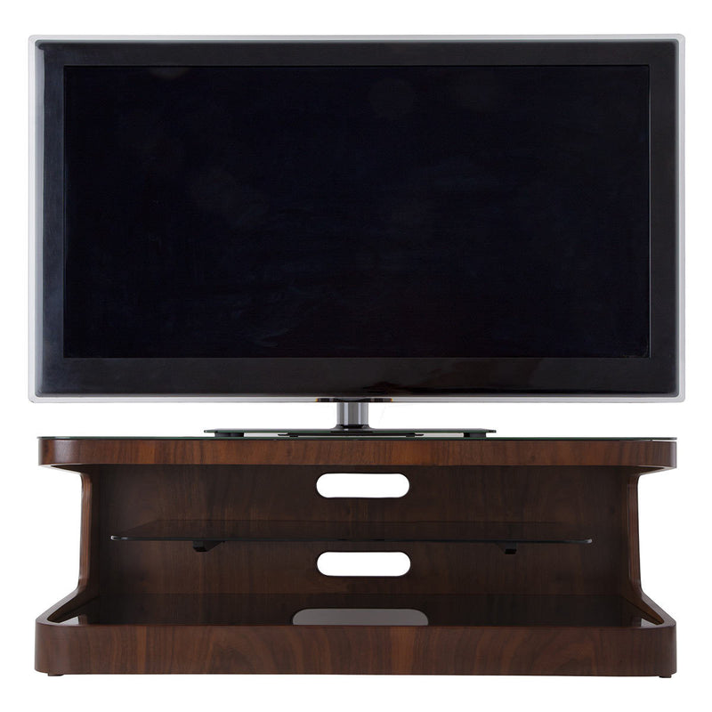 "AVF Winchester Affinity 1100 TV Stand for TVS up to 55"" in Walnut"