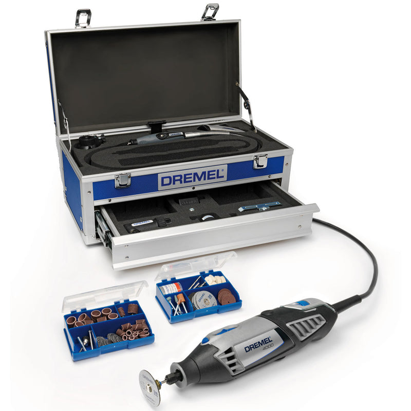 Dremel 4000-6/128 Platinum Multi-Tool Kit