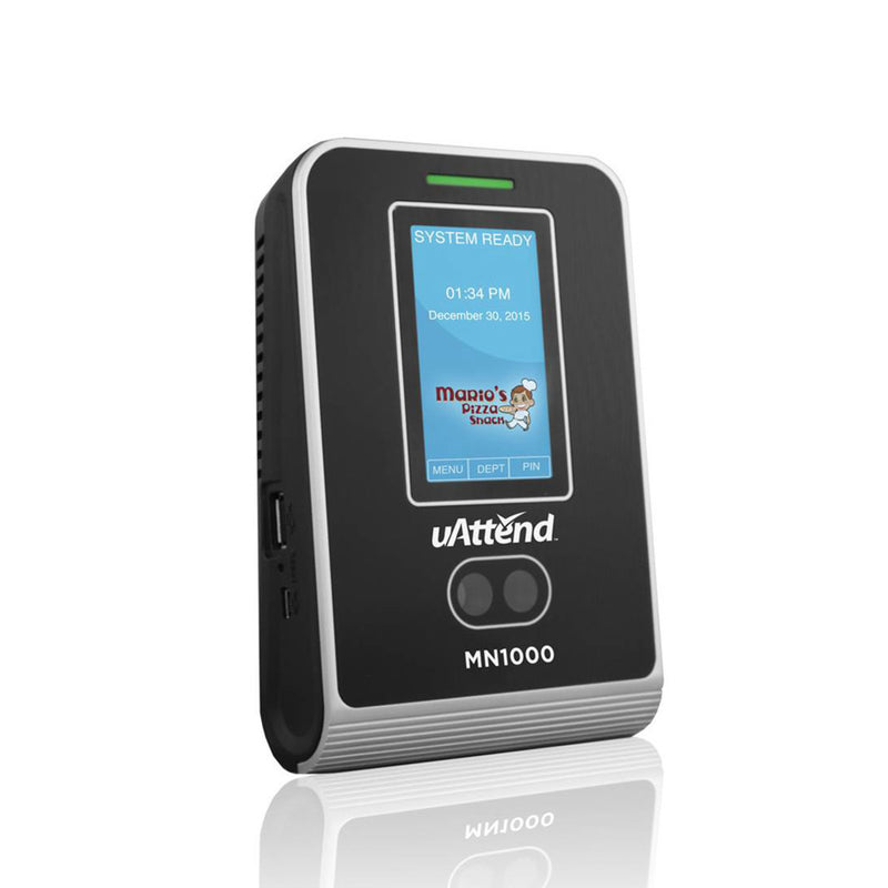 uAttend MN1000 Biometric Facial Time Clock