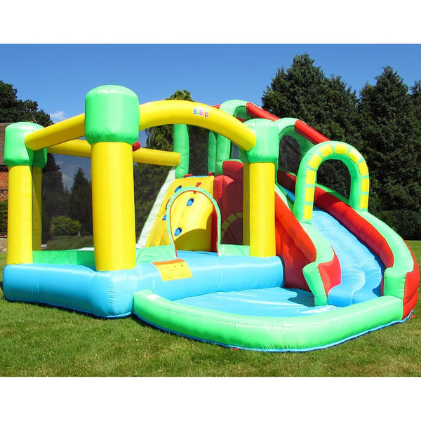 "BeBop 8ft 2"" 8 in 1 Activity Bouncy Castle (3-10 Years)"