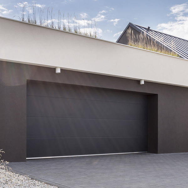 Birkdale Automatic Sectional Garage Door with Installation up to 2.5m Wide Installed Remote