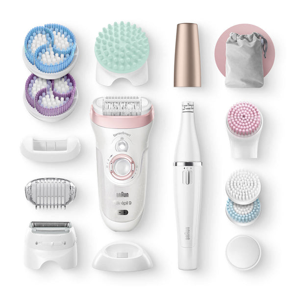 Braun Silk-Epil 9 9/995 Epilator & FaceSpa Set