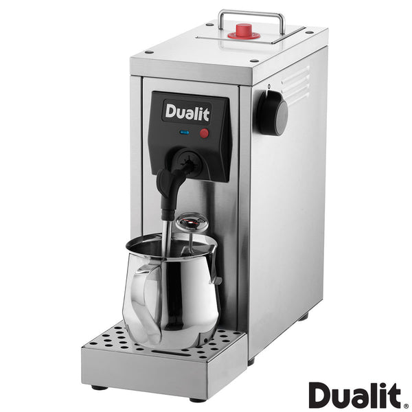 Dualit Café Cino Milk Steamer, 84850 Includes thermometer and jug