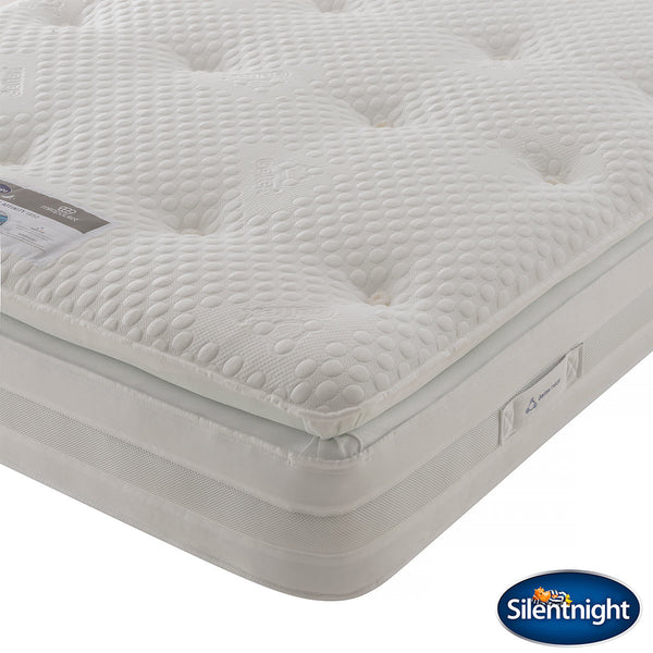 Silentnight Geltex 1850 Mattress, Super King (180 x 200 cm)  - Comfort Rating: Medium / Soft  - Mattress Depth: 34 cm  - Geltex® Comfort Layer and Pocket Springs  - Gel infused foam for superior breathability