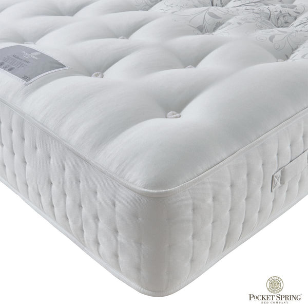 Pocket Spring Bed Company Mulberry Mattress, King King (150 x 200 cm)  - Comfort Rating: Medium  - Mattress Depth: 36 cm  - Pocket Spring  - Hypoallergenic