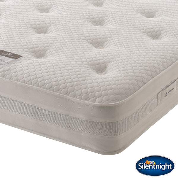 Silentnight Geltex 1000 Mattress - Double Geltex® Comfort Layer and Pocket Springs  - Features gel infused foam for superior breathability   - Hypoallergenic