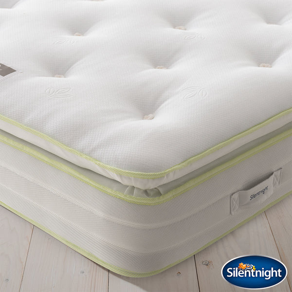 Silentnight 2200 Eco Comfort Breathe Mattress, Super King Pocket Springs & Ultraflex Mini Springs  - Hypoallergenic