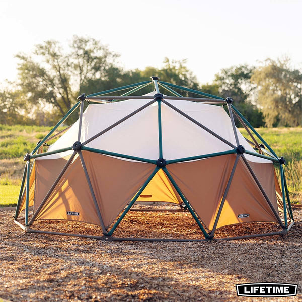 Lifetime Earthtone Dome Climber with Canopy (3-10 Years)