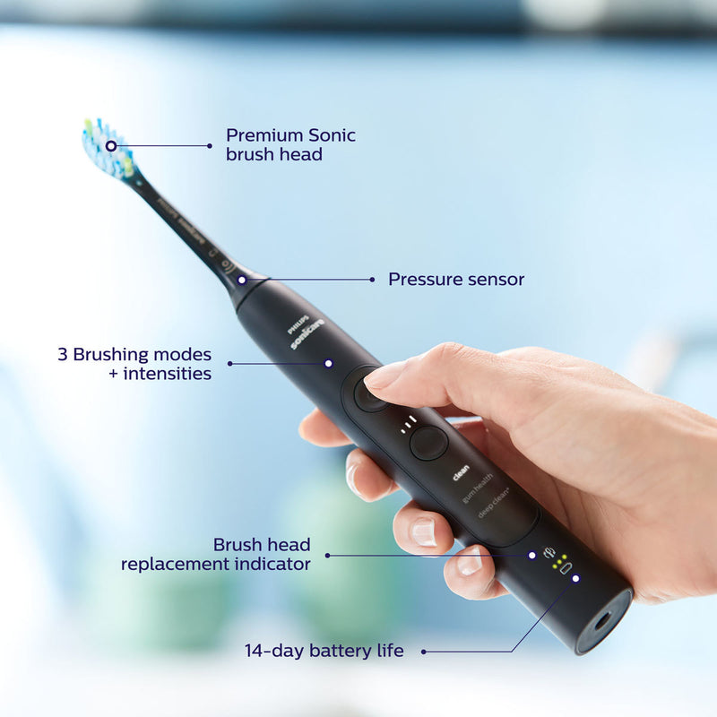 Philips Sonicare ExpertClean 7300 Toothbrush Black, HX9611/22