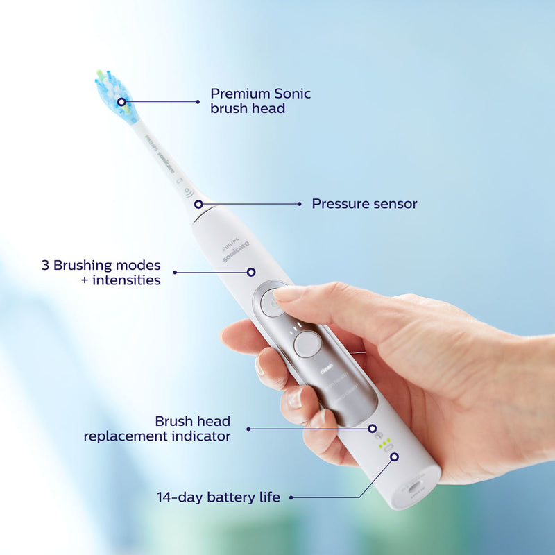 Philips Sonicare ExpertClean 7300 Toothbrush White, HX9611/21