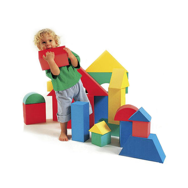 Edushape 32-Piece Giant Foam Building Set (1+ Year)