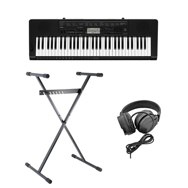 Casio CTK-3500AD, Full Size Keyboard with Stand and Headphones