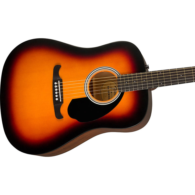 Fender FA-125 Dreadnought Acoustic Guitar in Sunburst