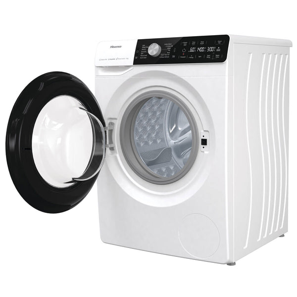Hisense WFGA90141VM, 9kg, 1400rpm Washing Machine, B Rating in White