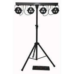 KAM KML305 Party Bar Lights with Stand, Footswitch and Bag