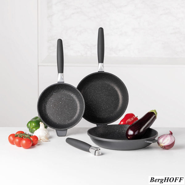 BergHOFF Eurocast Non-stick Frying Pans, 3 Pack