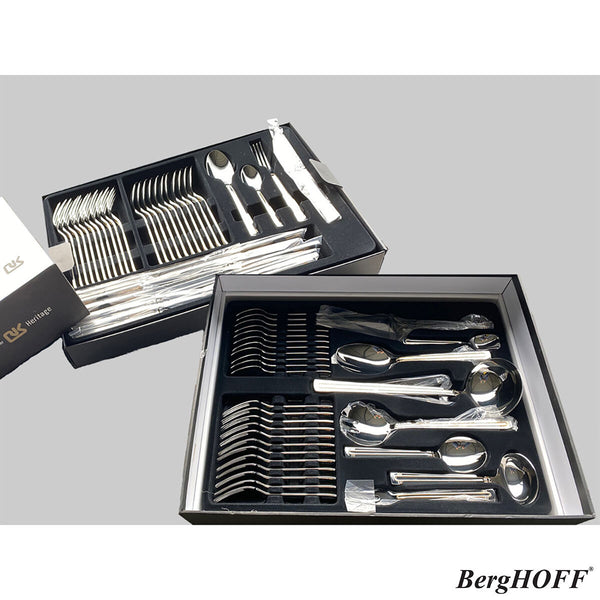 BergHOFF Essentials Heritage Stainless Steel 72 Piece Cutlery Set