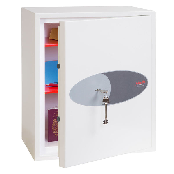 Phoenix Fortress SS1183K Security Safe with Key Lock, 42 Litres