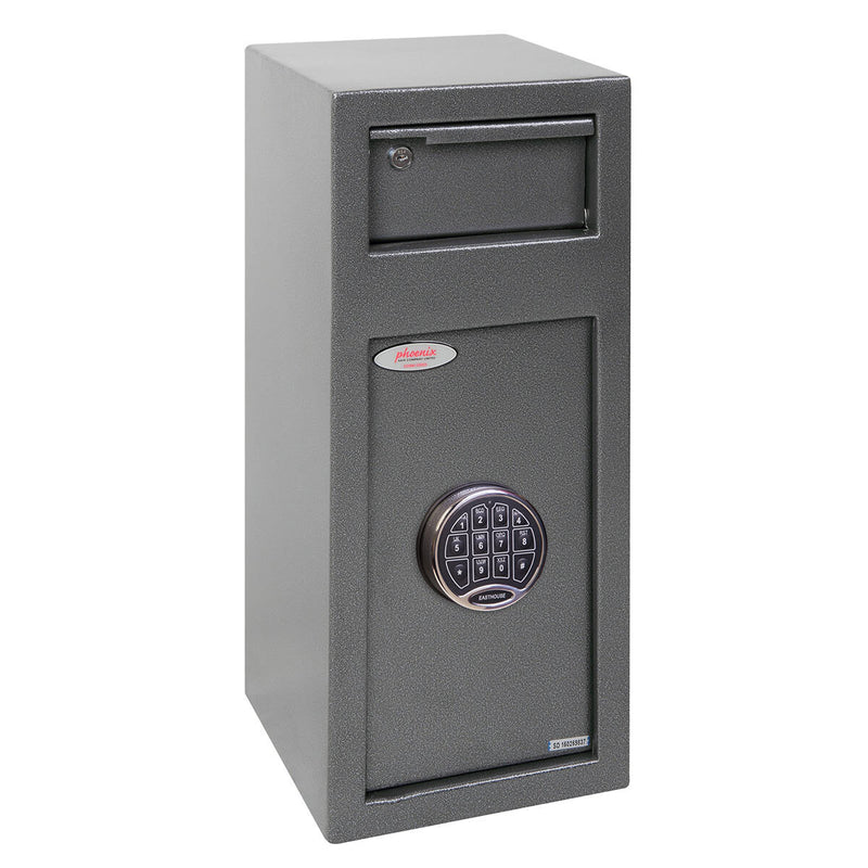 Phoenix SS0992ED Cashier Day Deposit Security Safe with Electronic Loc