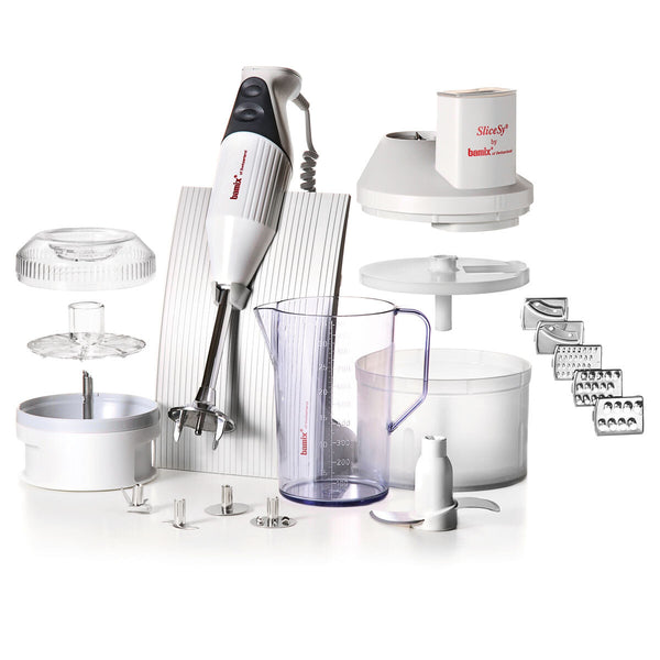 Bamix Superbox Hand Blender Set, White