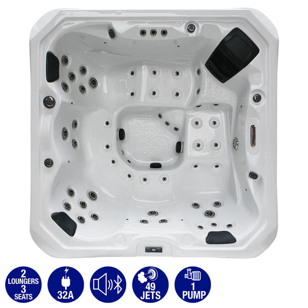 Platinum Spas Bari 49-Jet 5 Person Hot Tub - Delivered and Installed