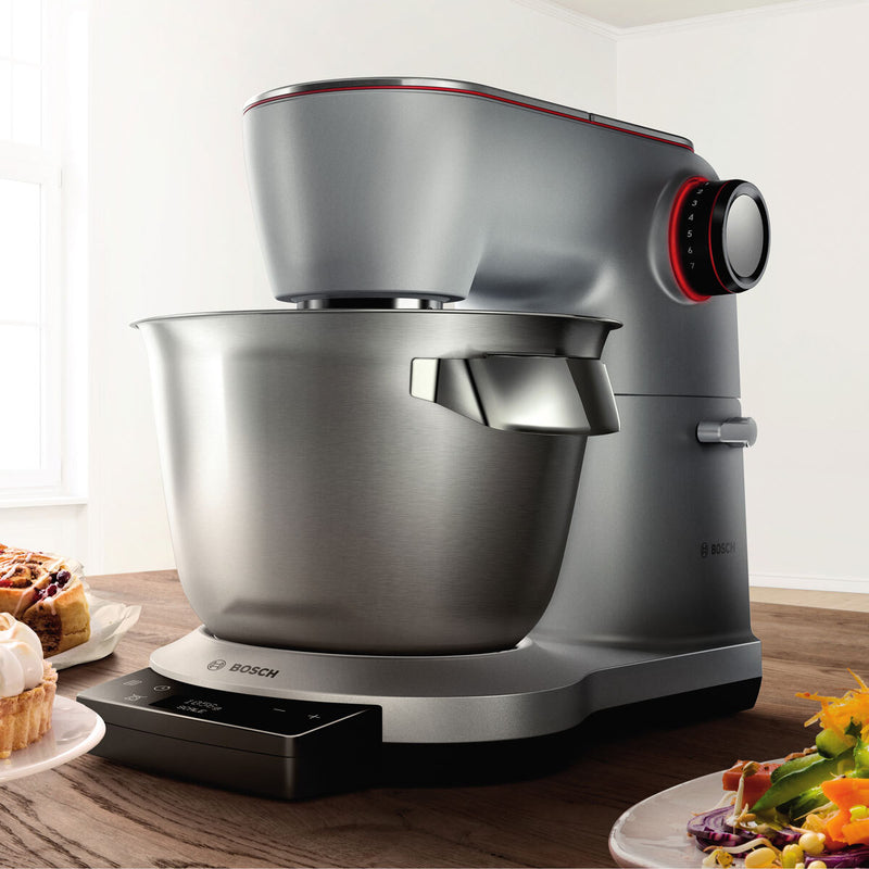 Bosch OptiMUM 1500W Kitchen Stand Mixer in Stainless Steel, MUM9GX5S21