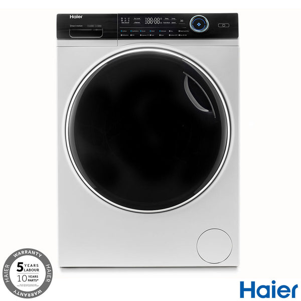 Haier HW100-B14979, 10kg, 1400rpm Washing Machine A+++ Rating in White