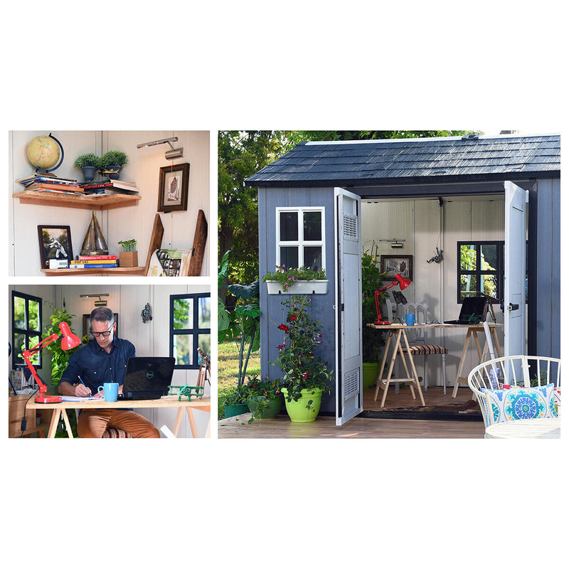 "Keter Oakland My Shed 11ft x 7ft 6"" (3.4 x 2.3m) Side Door Shed"