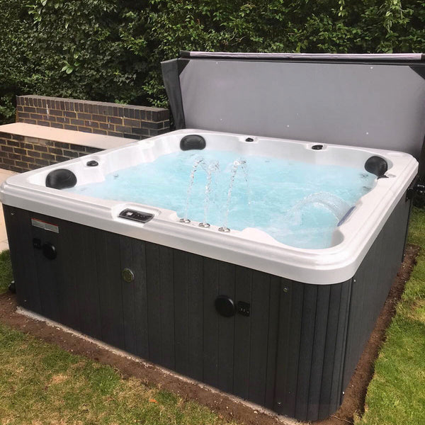 Blue Whale Spa Olive Bay 54-Jet 6 Person Hot Tub - Delivered and Installed