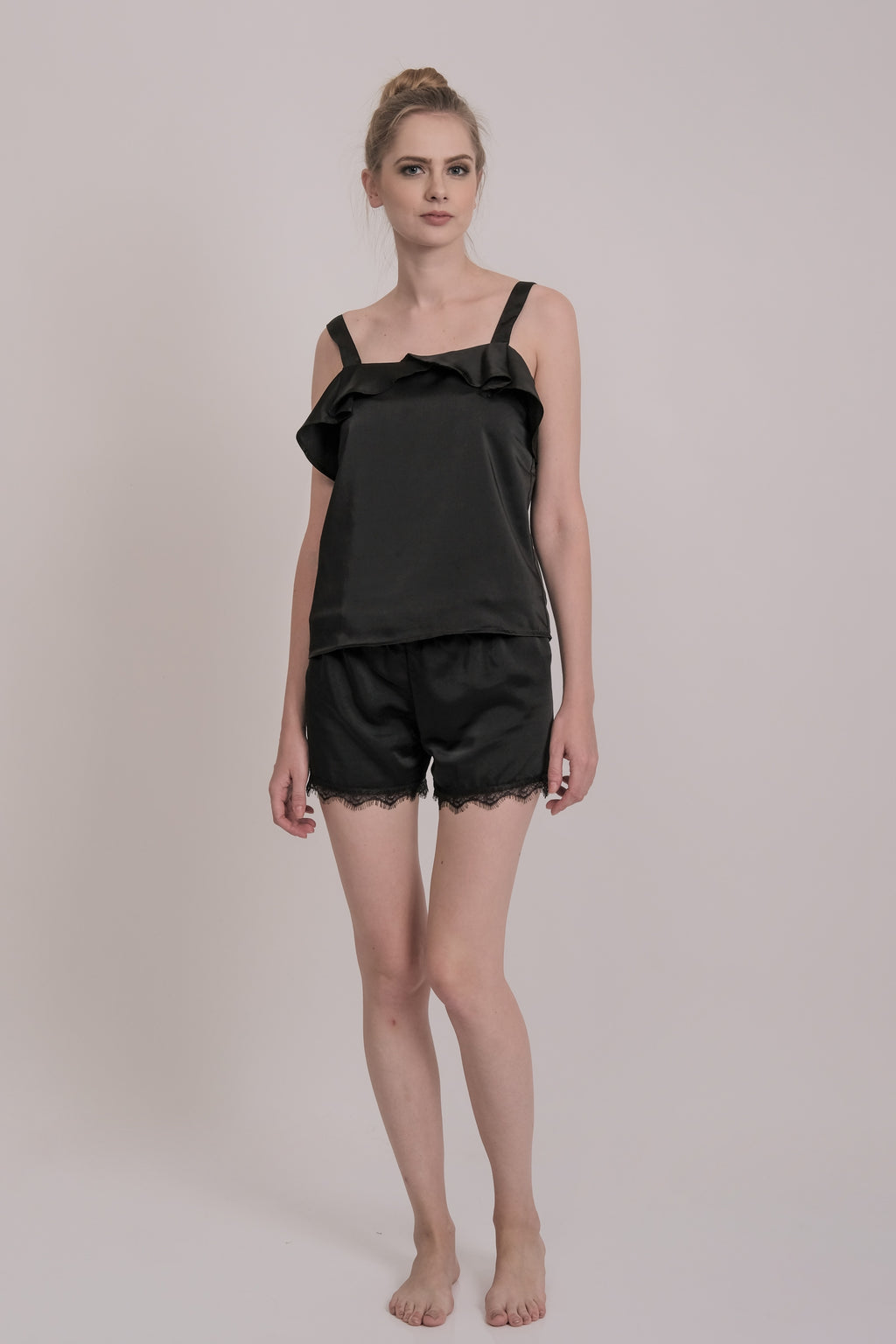Belle Cami Set Black