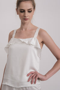 Belle Cami Set White