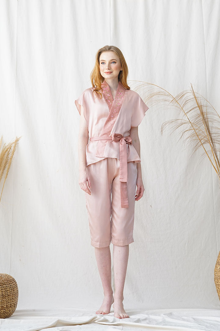 Hana Semi Set Dusty Pink