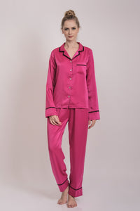 Èlise Long PJ Set Fushia
