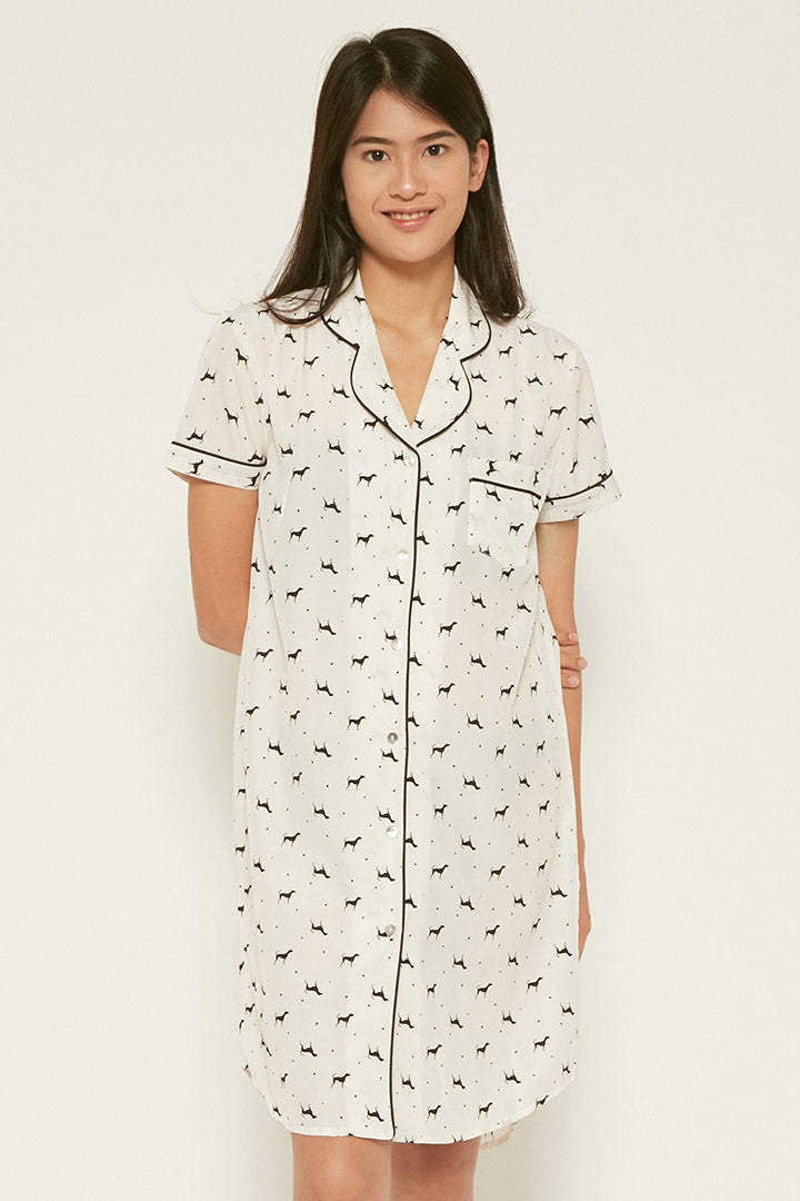 Annette Shirt Dress Puppy