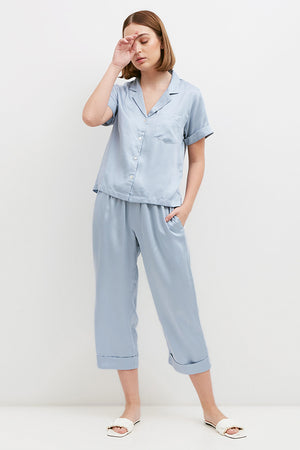 Issey Semi PJ Set Dusty Blue