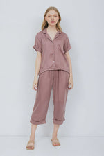 Issey Semi PJ Set in Plum