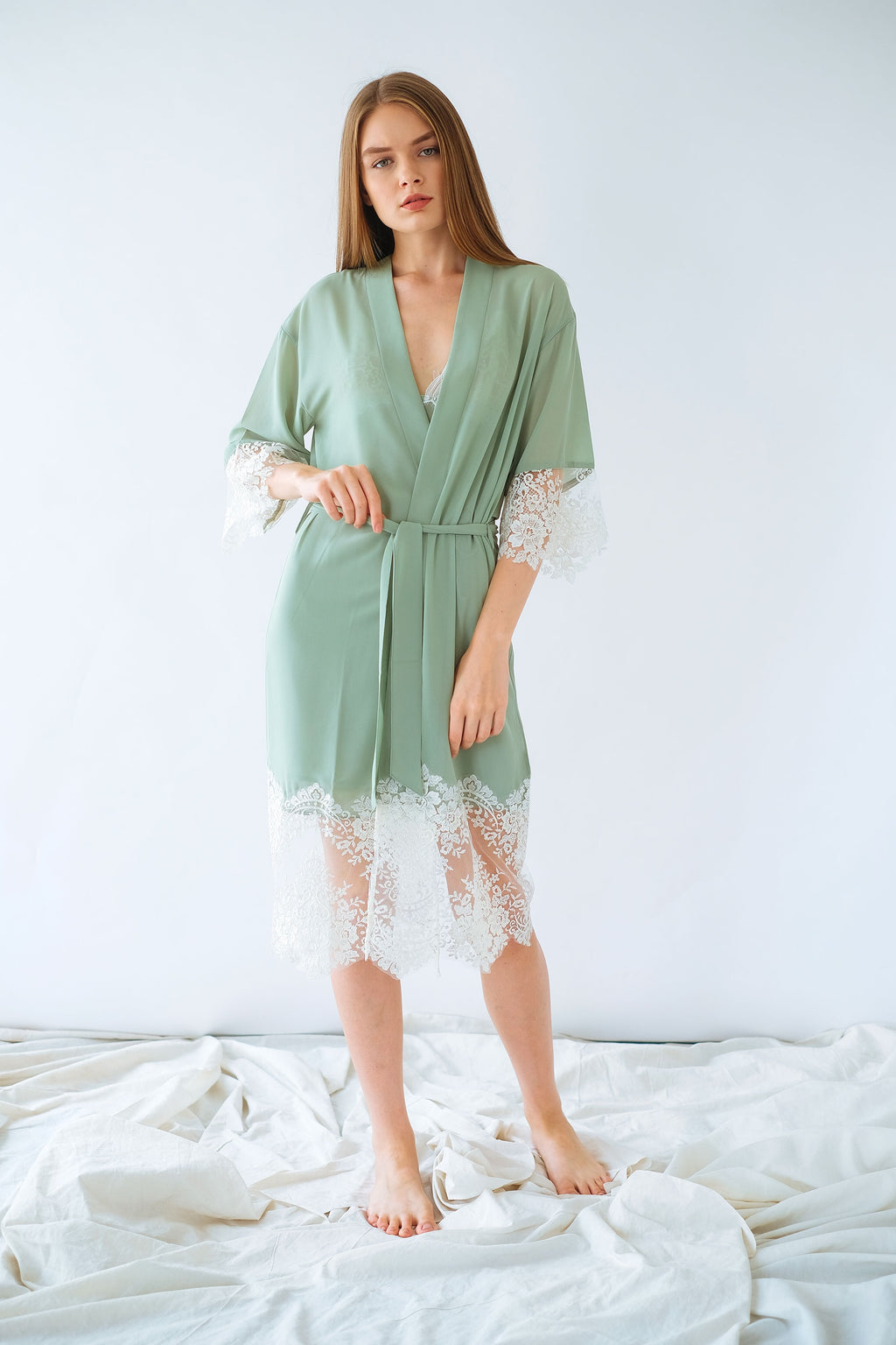 Florence Robe Green